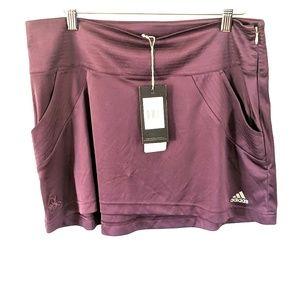 NWT Adidas clima365 tennis skirt with pockets